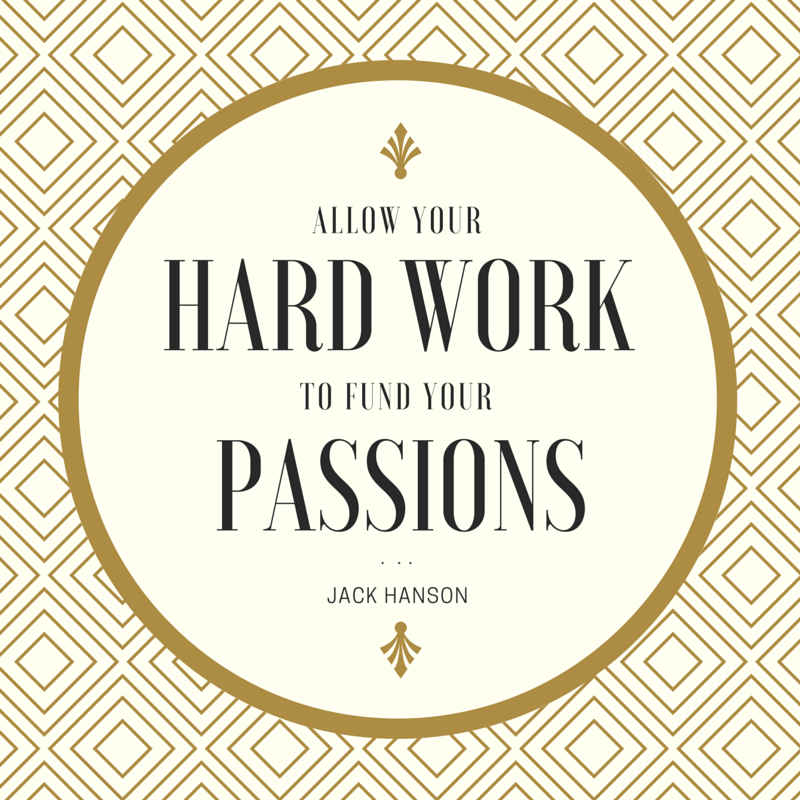 Hard Work Funds Passion