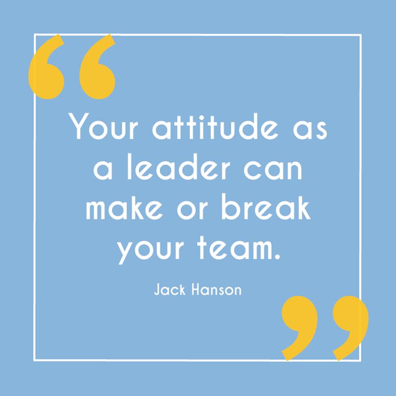 Attitude as a Leader