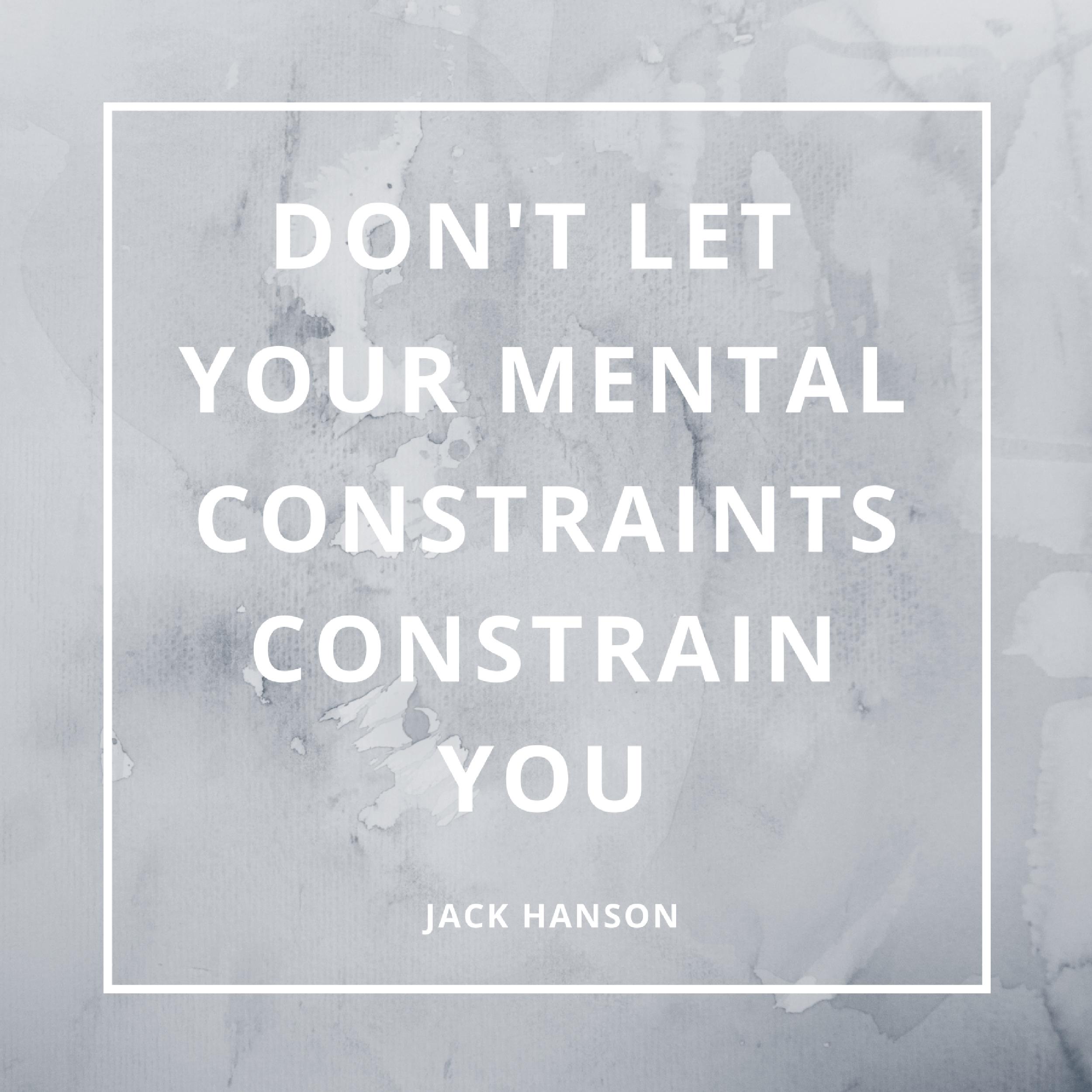 Mental Constraints