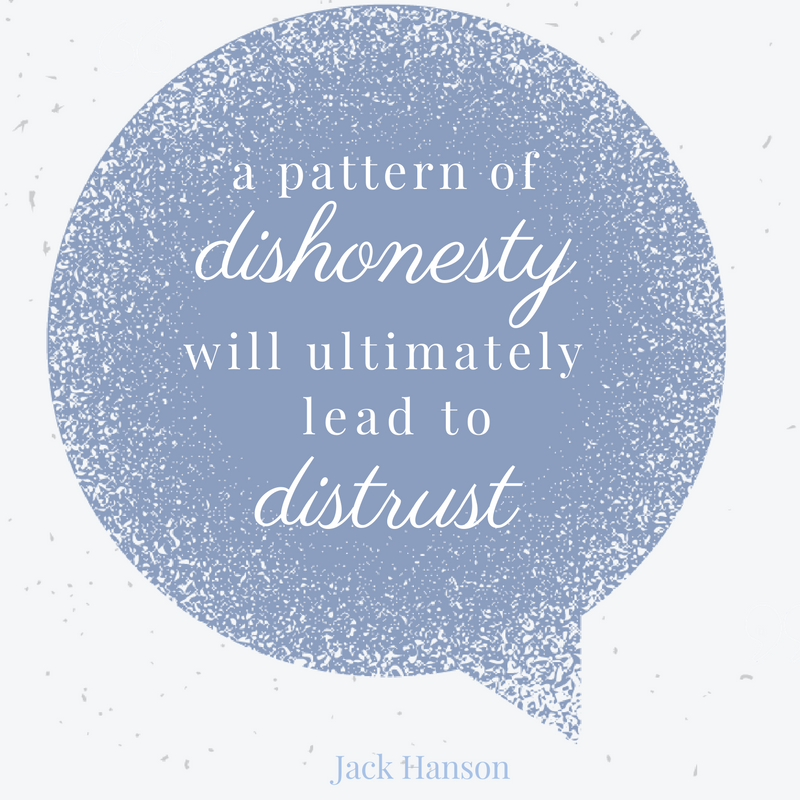 Pattern of Dishonesty