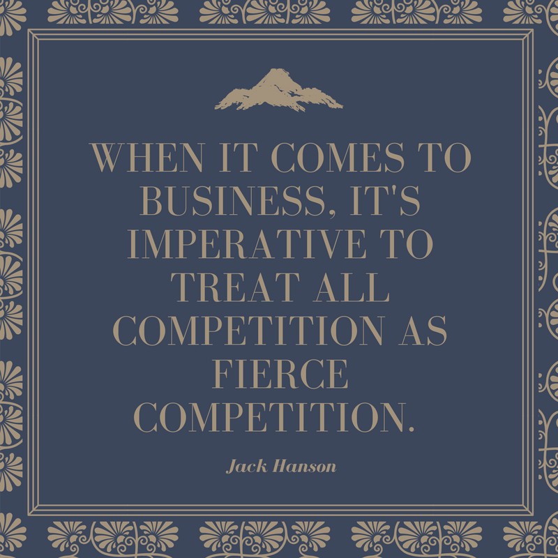 Keep Your Competition in Mind