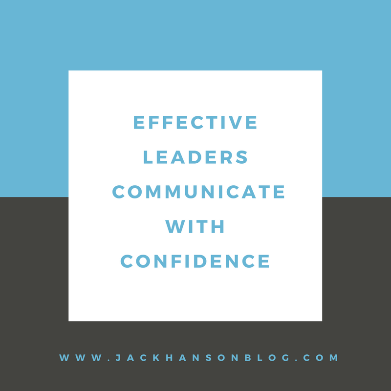 Communicate Confidence